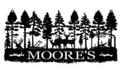 Moore Cabin Sign