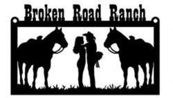 Broken Road Ranch Sign