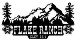 Flake Ranch Sign