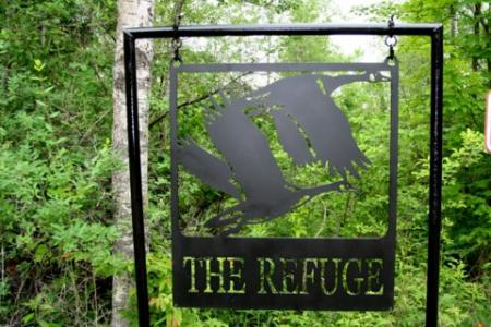 The Refuge Sign - Wisconsin
