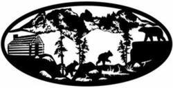 Bears and Cabin Oval
