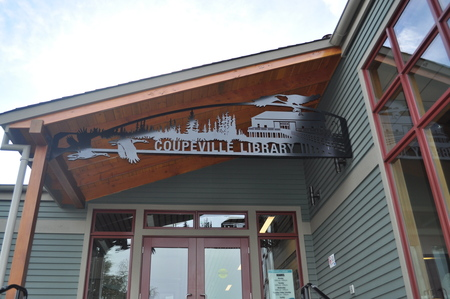 Coupeville, WA Library Sign