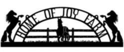 Home of Joy Sign