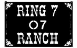 Ring 7 Ranch Sign