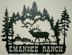 Elk Ranch Sign