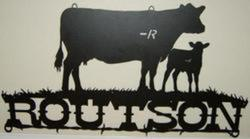 Routson Cow/Calf Ranch Sign