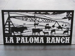 La Paloma Ranch Sign