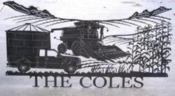 The Coles Farm Sign