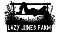 Lazy Jones Farm Sign