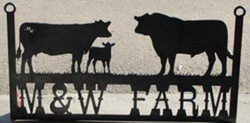 M&W Farms Sign