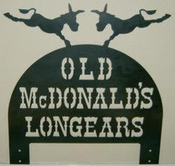 Old McDonald's Longears Sign