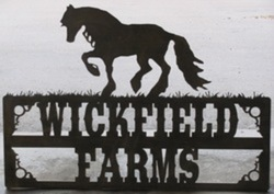 Wickfield Farms Sign
