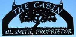 The Cabin Sign
