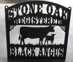 Stone Oak Black Angus