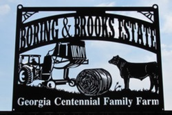 Boring and Brooks Estate Sign