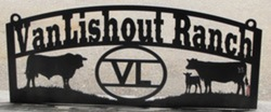 Van Lishout Ranch Sign